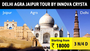 delhi agra jaipur tour by innova crysta car