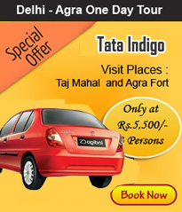 agra same day tour by tata indigo car